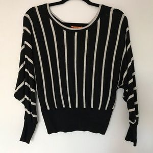 Anamà crop striped sweater